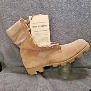 US Army issued Men's Military Boots hot weather